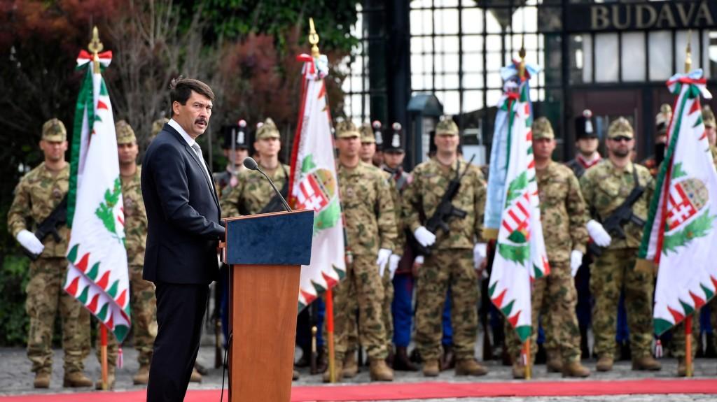 Áder: Magyarország legyen erős, független és szabad