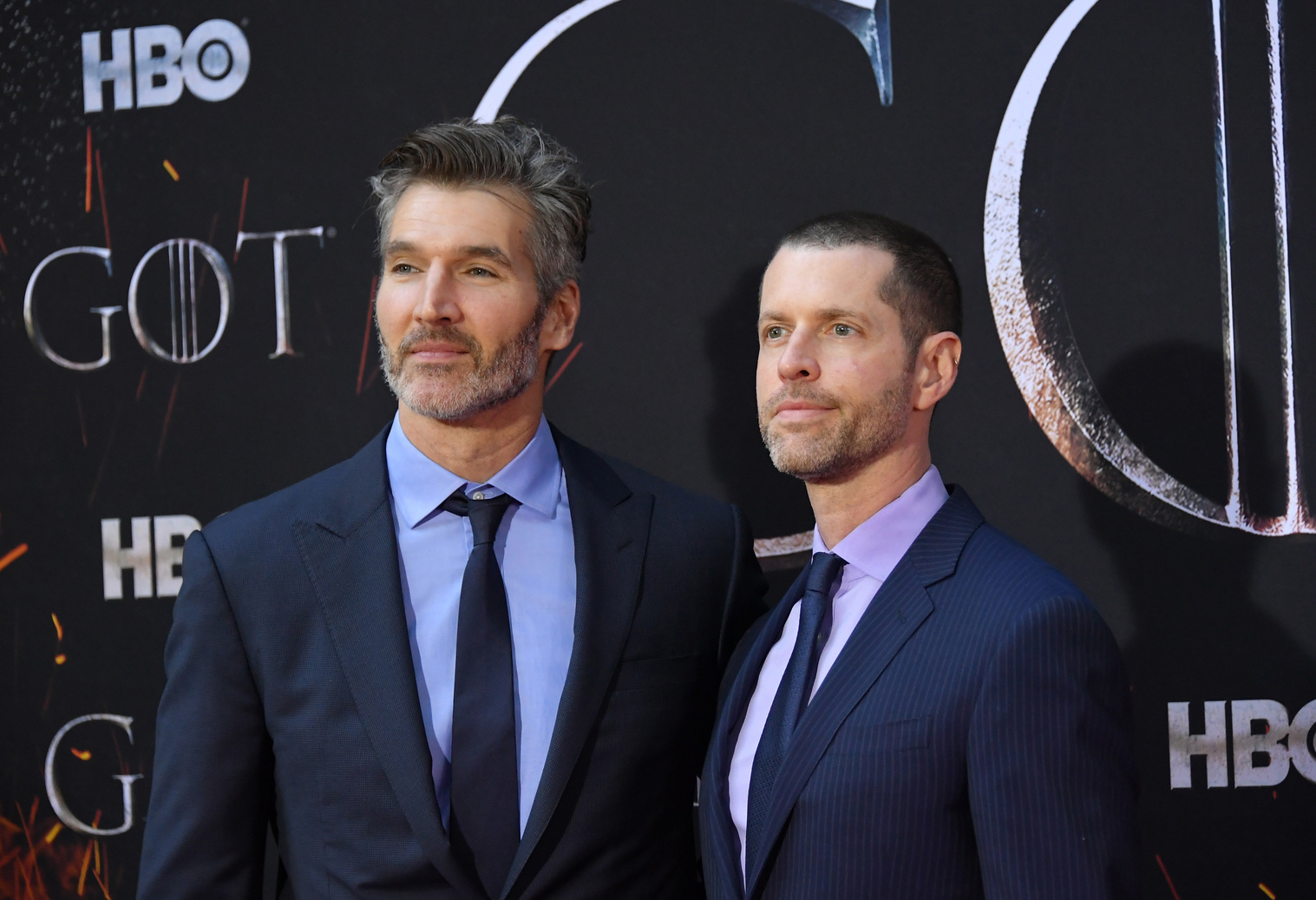 David Benioff és D.B. Weiss (Fotó: Getty Images/Mike Coppola)