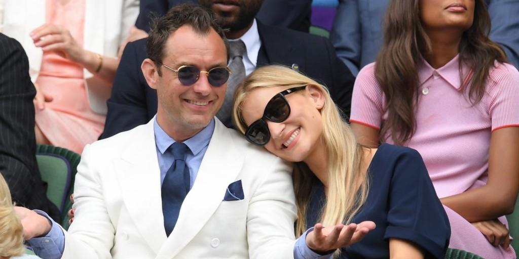 Jude Law hatodszorra is apa lesz