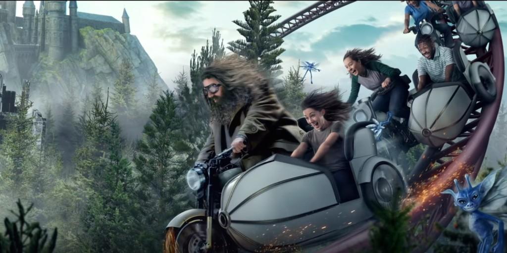 Varázslatos Harry Potter hullámvasút épült - mintha csak Hagrid mögött ülnénk