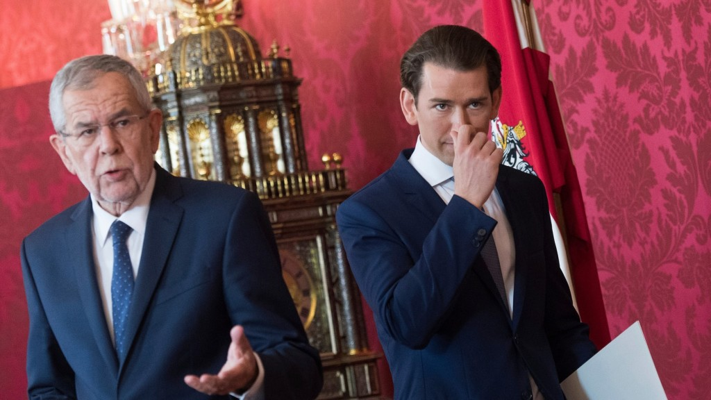 Az osztrák elnök felmentette a szabadságpárti minisztereket