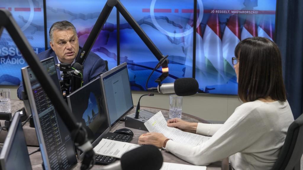 ÉLŐ: Orbán Viktor a Kossuth Rádióban nyilatkozik