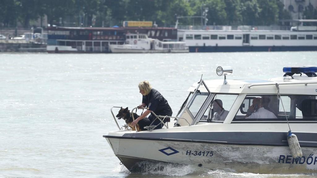 Dunai hajóbaleset: szünet nélkül zajlik az eltűnt utasok keresése