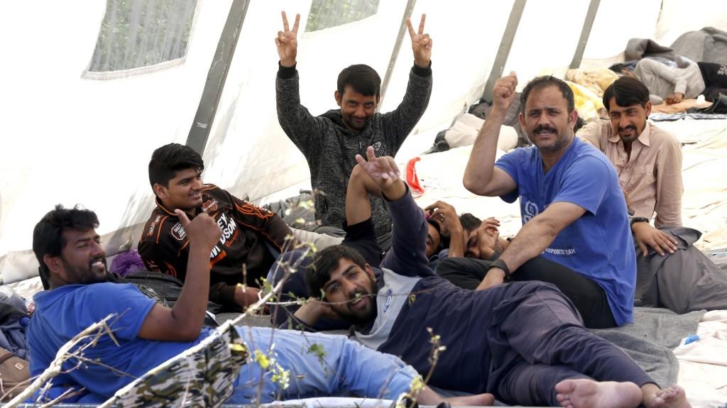 Migránsok között razziáztak a bosnyák rendőrök