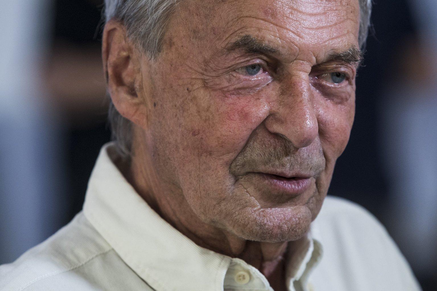 Rubik Ernő Kossuth- és állami díjas építészmérnök (Fotó: MTI/Mónus Márton)