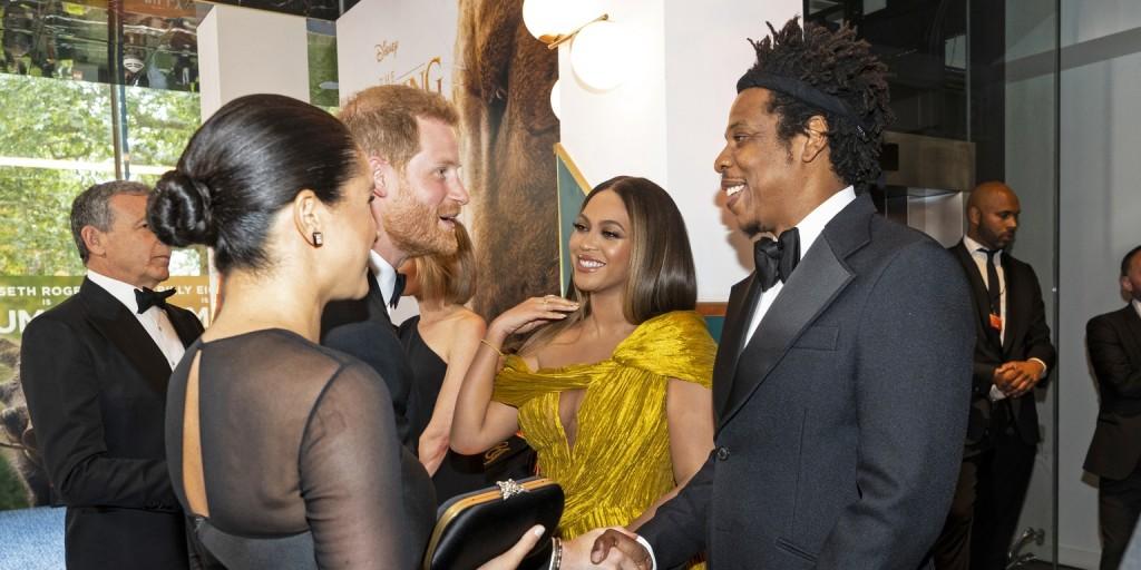 Meghan hercegné és Beyoncé egy perc alatt a legjobb barátnők lettek