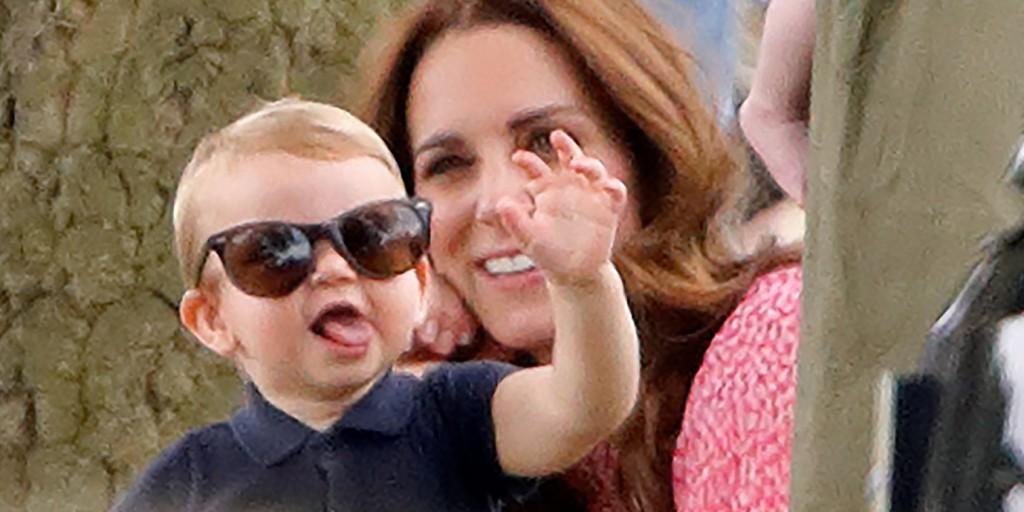 Az imádnivaló kis Lajos herceg volt a pólómeccs váratlan kis sztárja