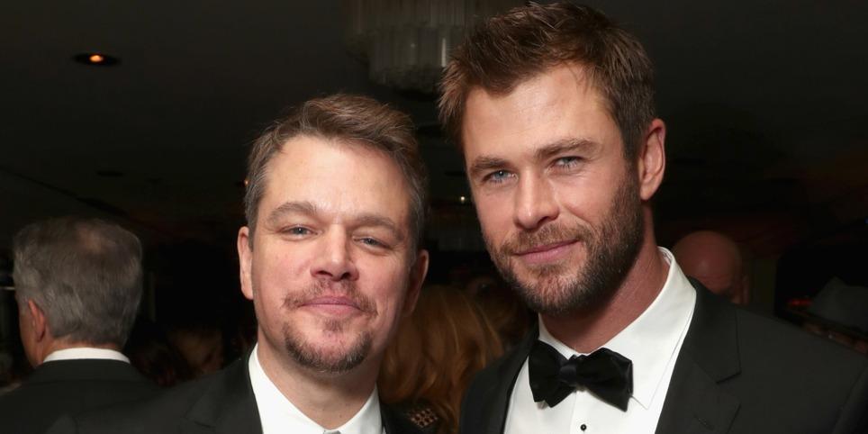 Chris Hemsworth és Matt Damon idétlenkedése egyszerűen kihagyhatatlan