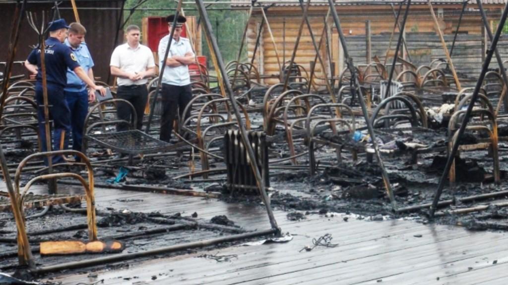 Leégett egy gyermekeket üdültető sátortábor az orosz Távol-Keleten