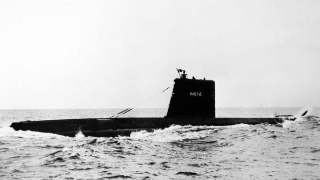 Megtalálták az ötven éve eltűnt francia tengeralattjárót