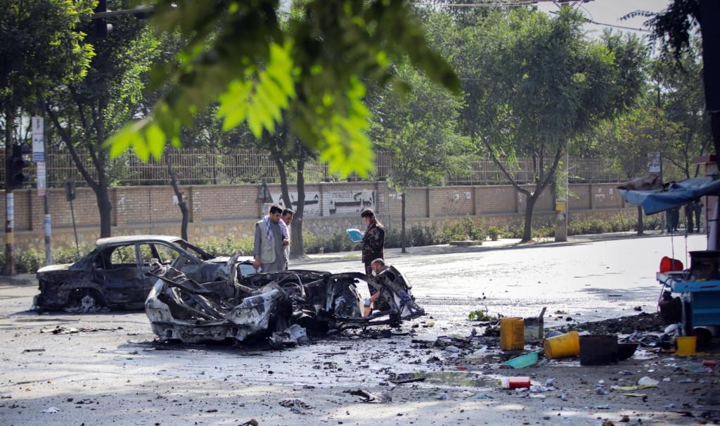 A kabuli egyetemnél robbantottak