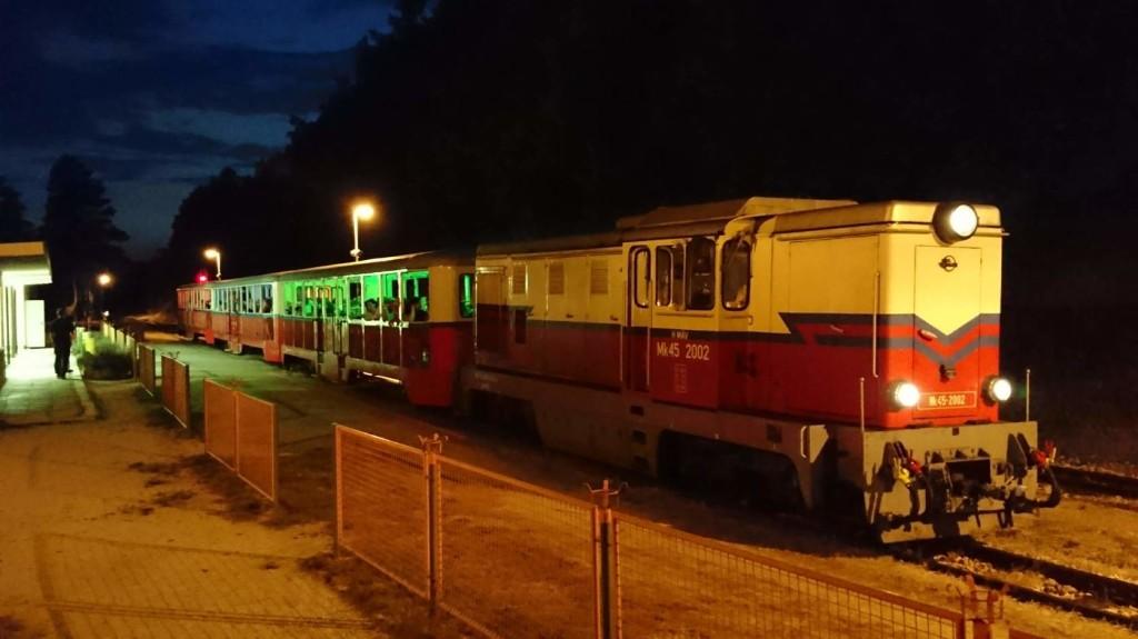 Éjszakai teljesítménytúrát tartanak a Széchenyi-hegyi Gyermekvasúton