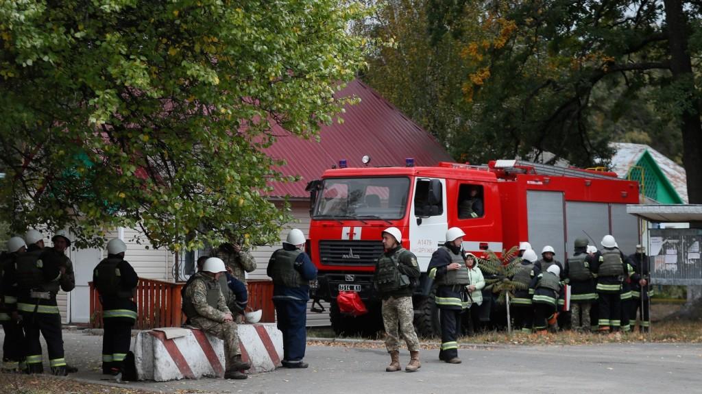 Többen meghaltak egy kigyulladt odesszai szállodában