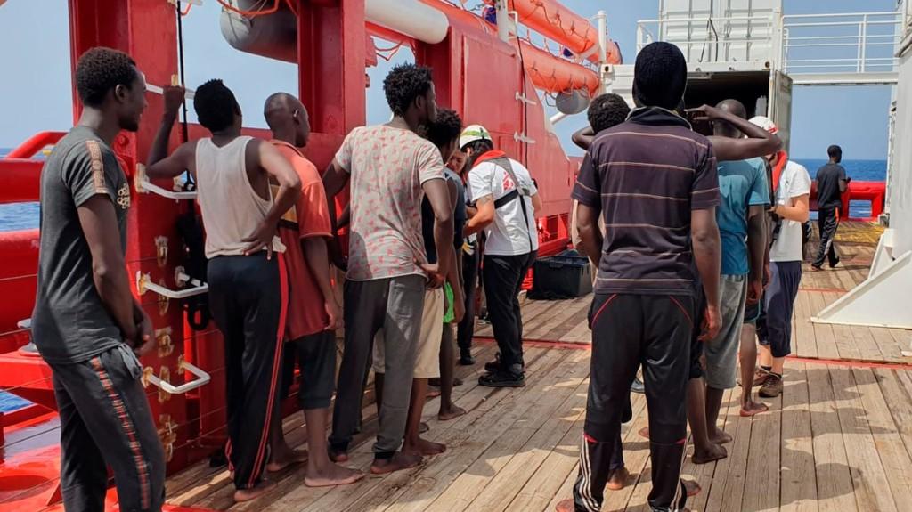 Nem maradt elég élelmiszer az Ocean Viking fedélzetén