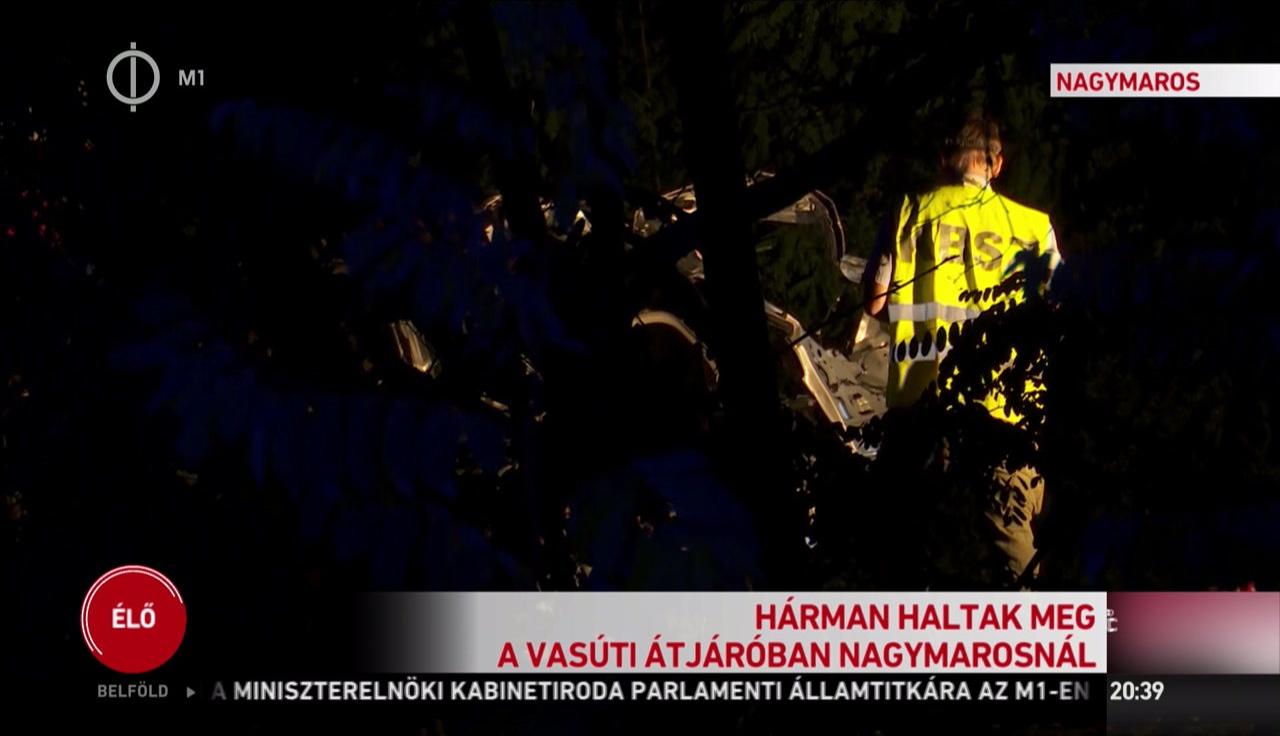 Halálos baleset történt Kismaros és Nagymaros között 2019. 08. 21-én.