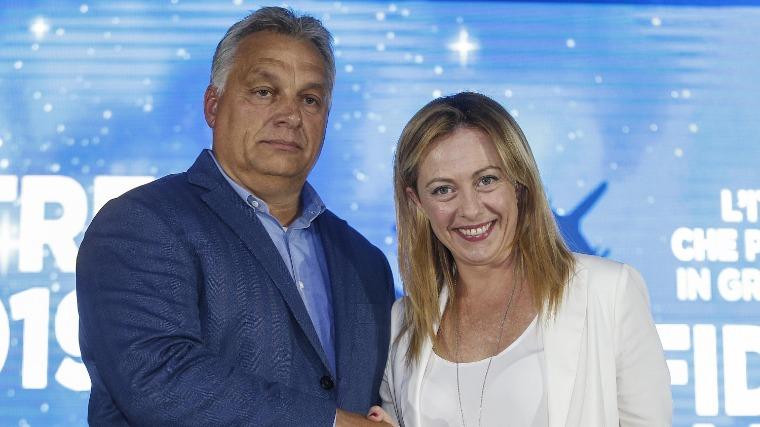 Orbán Viktor üzenete az ellenzékbe vonult Olasz Testvéreknek
