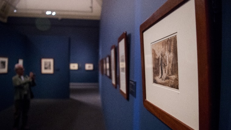 The exhibition Rembrandt and his pupils opened on Sept 19 Photo: MTI/Zoltán Balogh