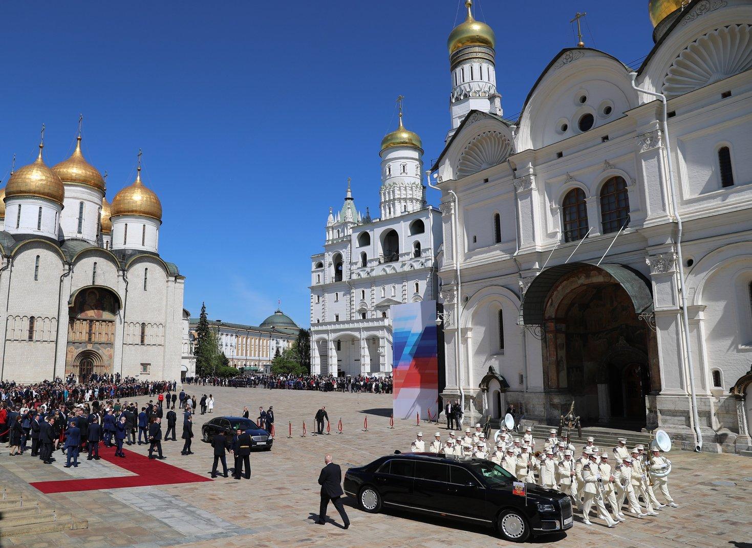 (Fotó: MTI/EPA/Szputnyik/Kreml/pool/Szergej Szavosztyanov)