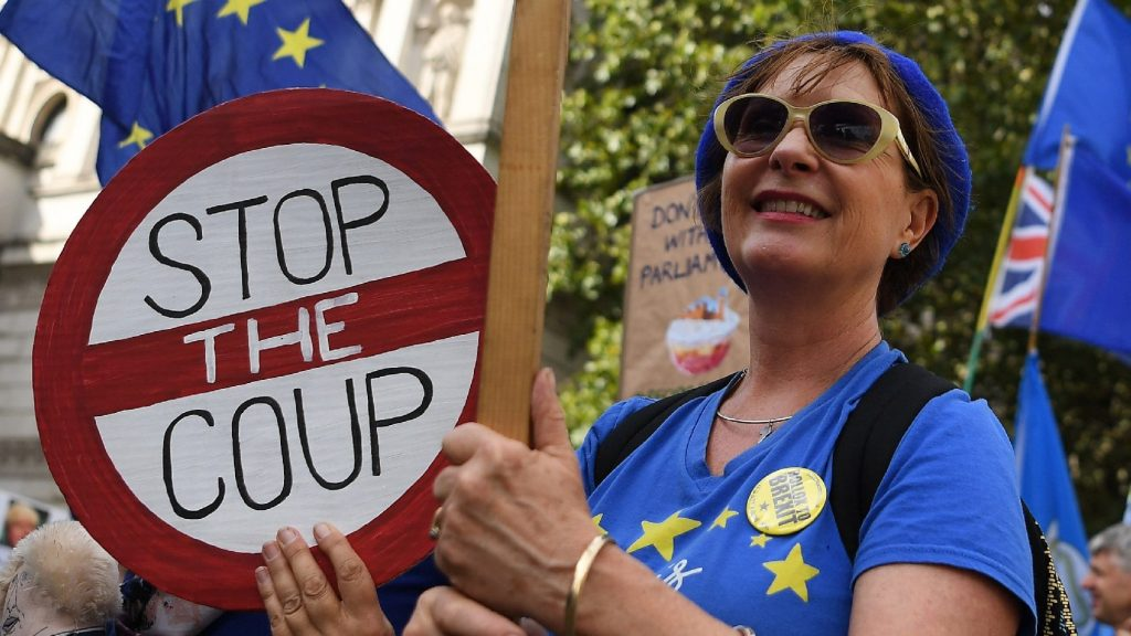 Tiltakoztak a Brexit ellen a Spanyolországban élő britek