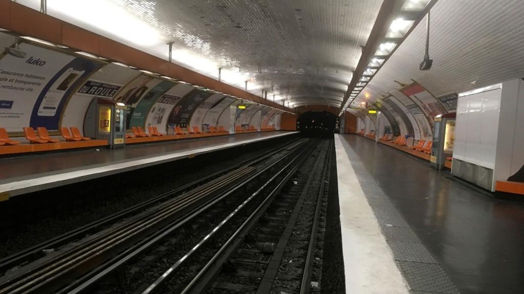 Elszabadult egy metrószerelvény Párizsban