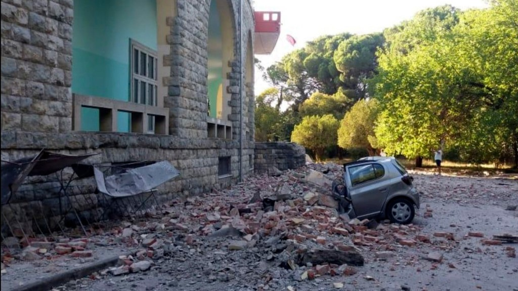 Földrengés volt Albániában