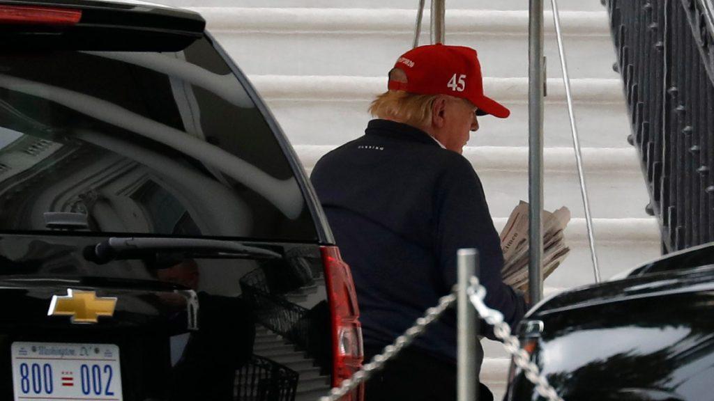 Újságírókat gyilkoló Trump szerepelt egy videón egy támogatói gyűlésen