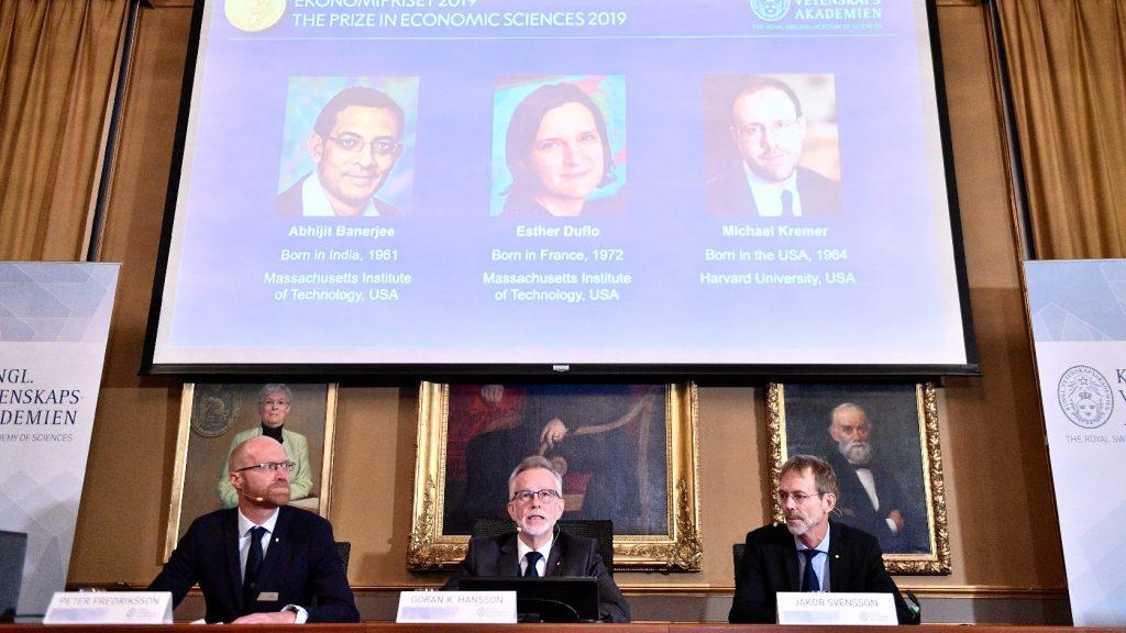 Hárman kapták megosztva az idén közgazdasági Nobel-emlékdíjat