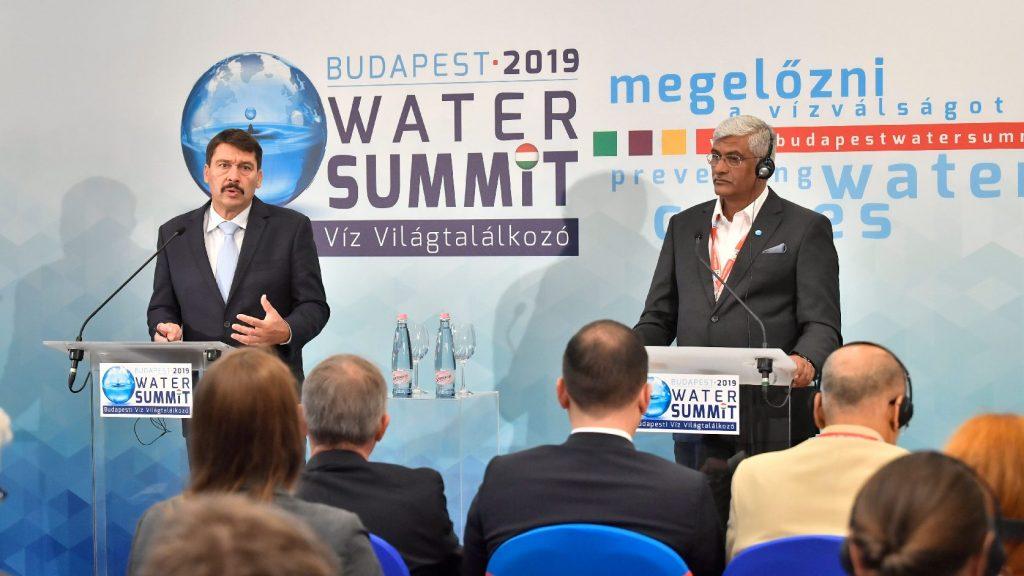 Áder János: A vízválság mára valósággá vált