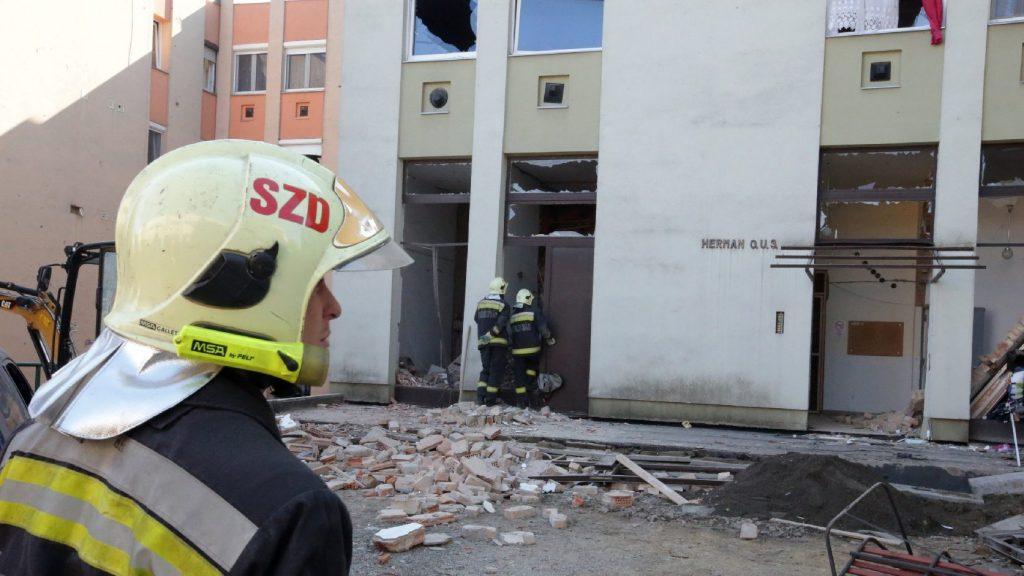 Hétfőn kezdődik a gázrobbanásban megsérült szekszárdi ház helyreállítása