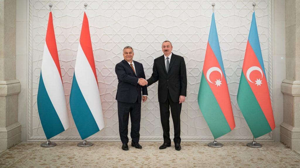 Orbán Viktor: További lehetőségek vannak a magyar-azeri gazdasági együttműködésben