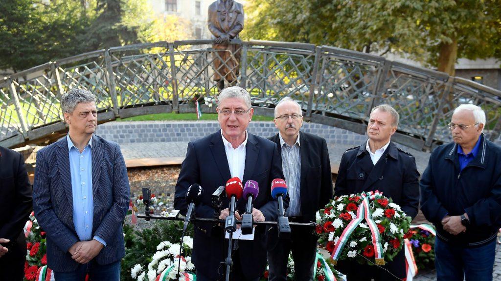 Gyurcsány hazafias ellenzék létrehozásáról beszélt