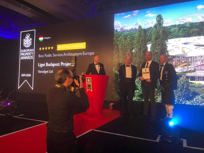 Európa legjobb középülete díját nyerte el a Magyar Zene Háza az International Property Awards-on (Forrás: Városliget Zrt. )