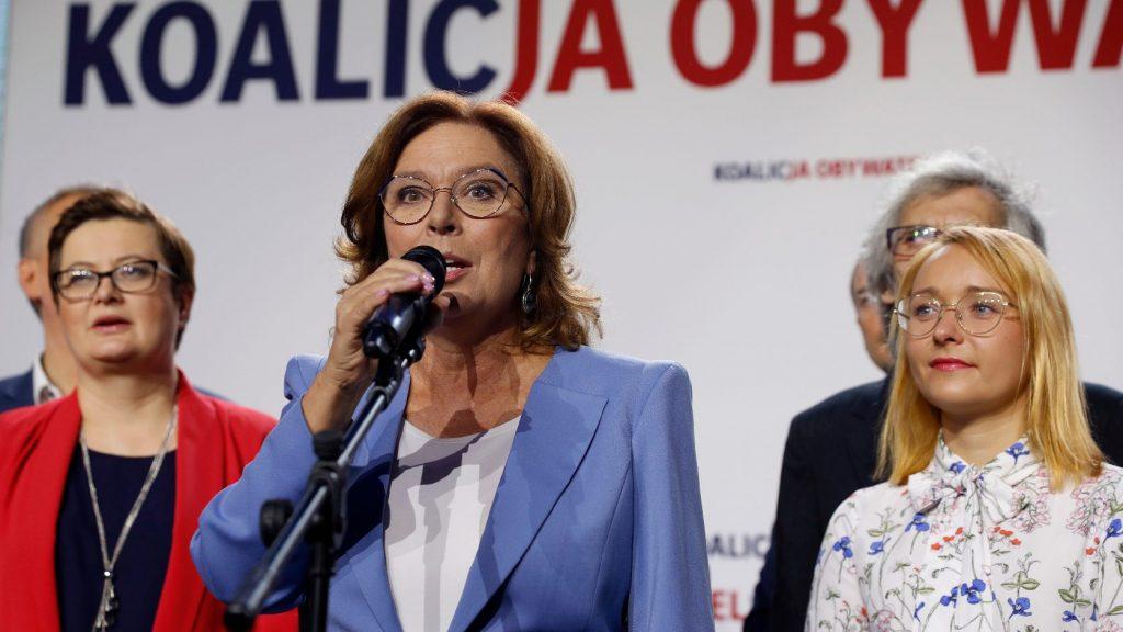 A lengyel szenátusban az ellenzék lehet erősebb