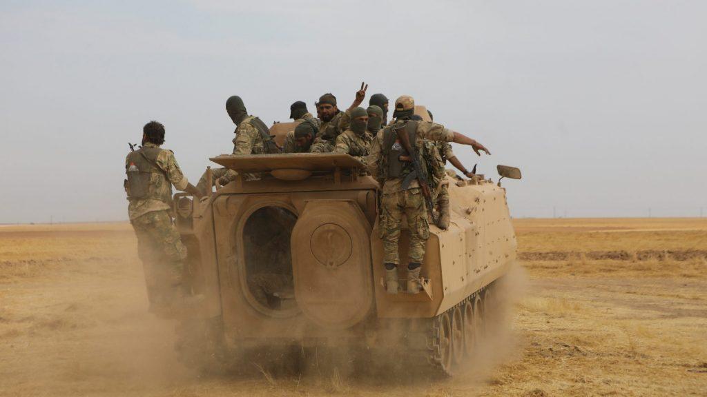 Irán elítéli török hadállások létesítését Szíriában