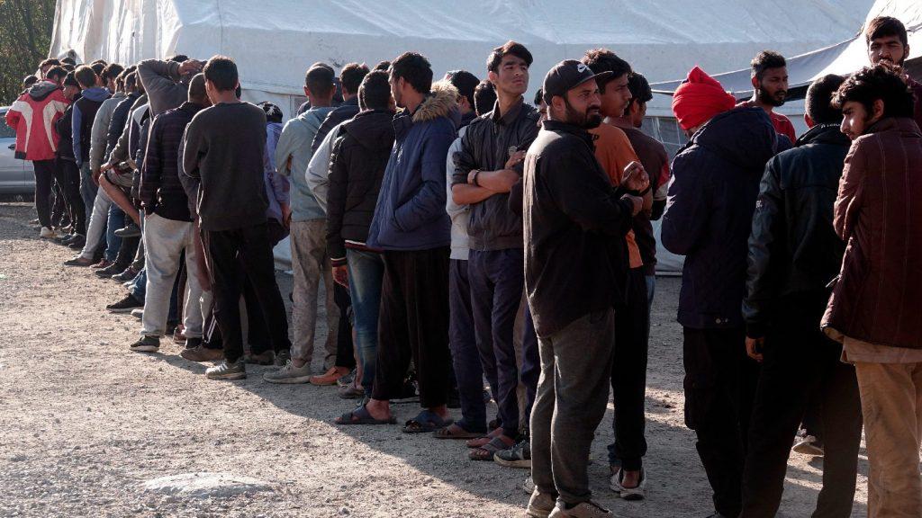 Egyre rosszabbak a körülmények a Vucjak migránstáborban