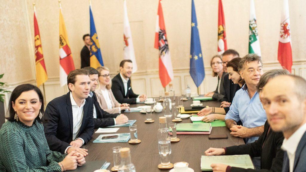 Jövő év elejére alakulhat meg az osztrák kormány