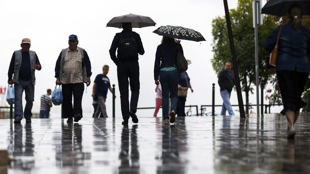 Országos esőre számíthatunk szerdán