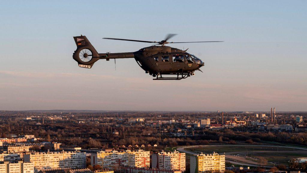 Megérkezett a honvédség első két Airbus helikoptere