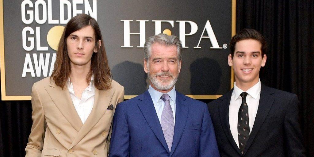 Látta már Pierce Brosnan hihetetlenül sármos fiait? Hamarosan a csapból is ők folynak majd