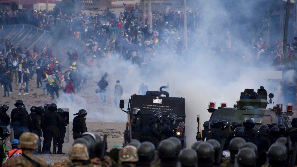 Kifogásolta a bolíviai rendőrség és hadsereg túlkapásait az ENSZ emberi jogi főbiztosa