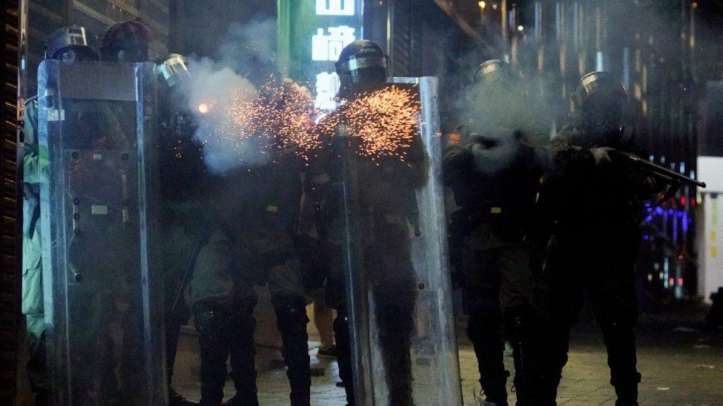 Megszavazta a hongkongi tiltakozókat támogató törvényjavaslatot az amerikai szenátus