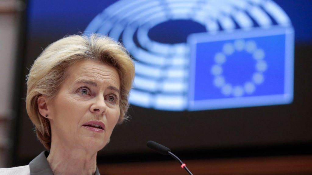 Von der Leyen: 100 milliárd euró az EU gazdaságainak környezetbarátabbá válásáért