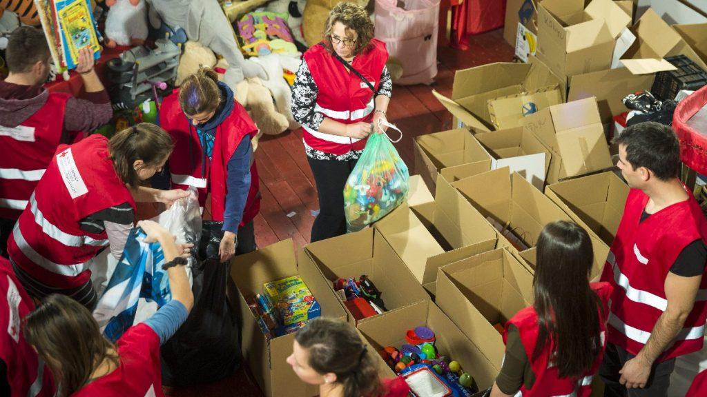 Több mint 71 ezer kilogramm adománnyal zárult a Magyar Vöröskereszt élelmiszergyűjtése