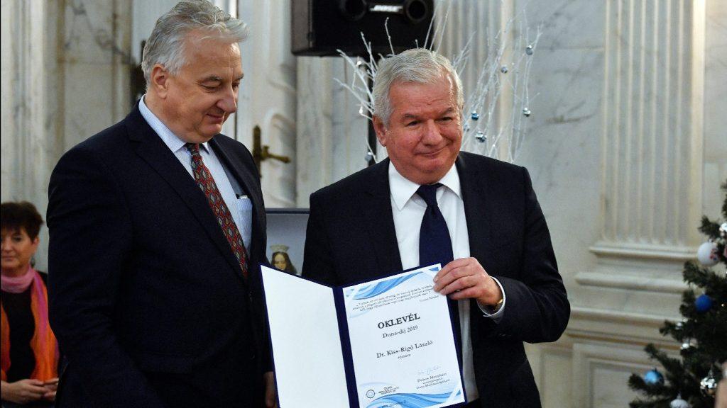 Duna-díj – A mai értékvesztett világban szükség van példaképekre