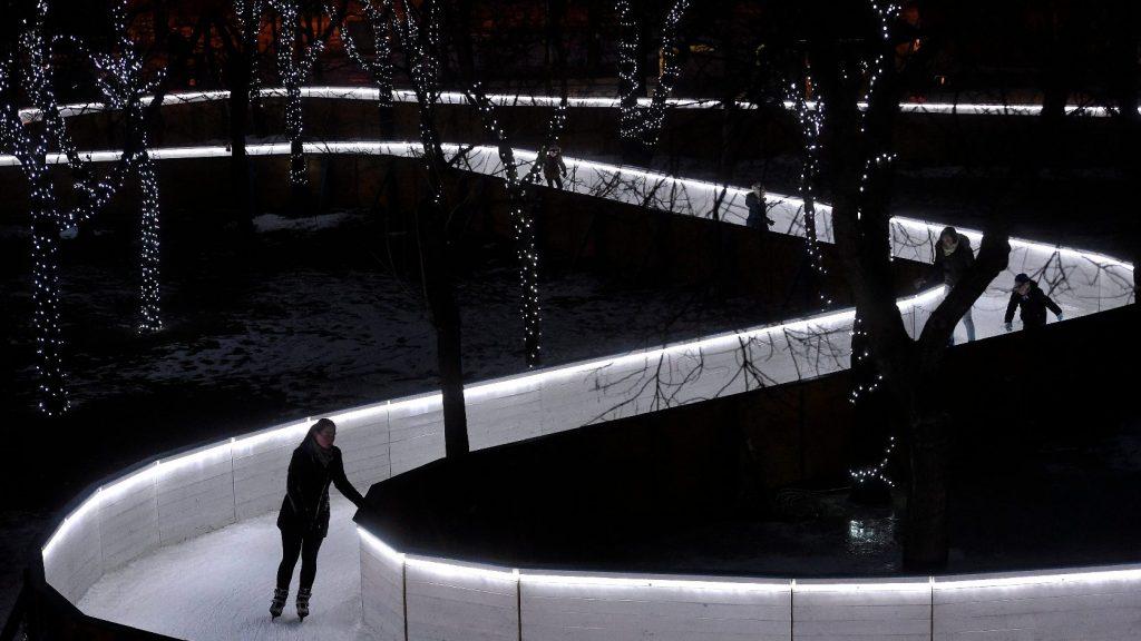Idén is várja a korcsolyázni vágyókat a csepeli jégfolyosó