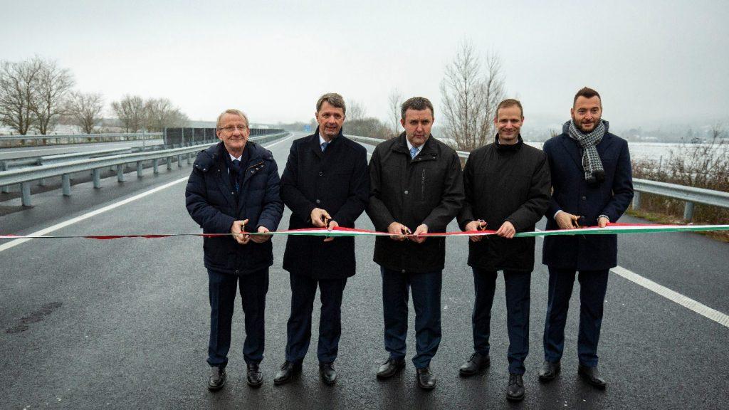 Átadták az M70 autópálya Letenye és Tornyiszentmiklós közötti szakaszát