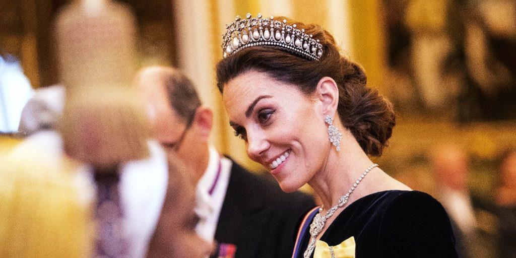 Katalin hercegné felvette a tiaráját, és ismét mindenkit ámulatba ejtett