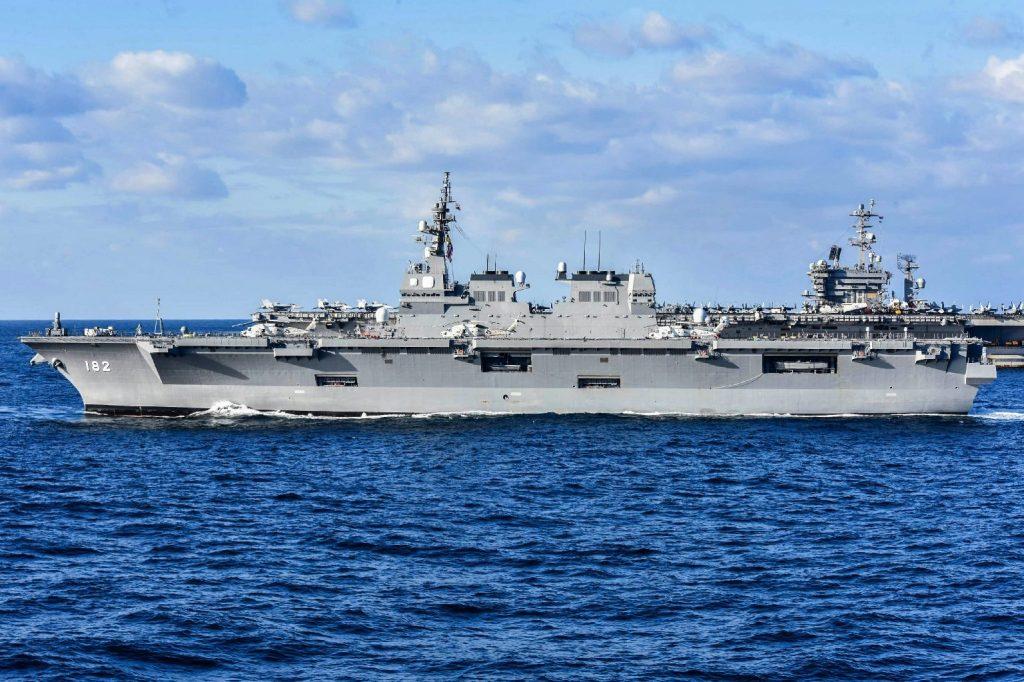 Amerikai repülőgéphordozók tartottak hadgyakorlatot a Dél-kínai-tengeren
