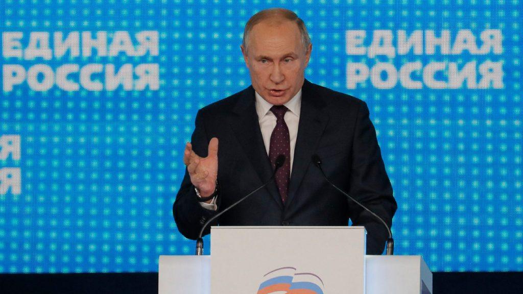 Putyin szerint nem lehet egyenlőségjel a náci Németország és a Szovjetunió között