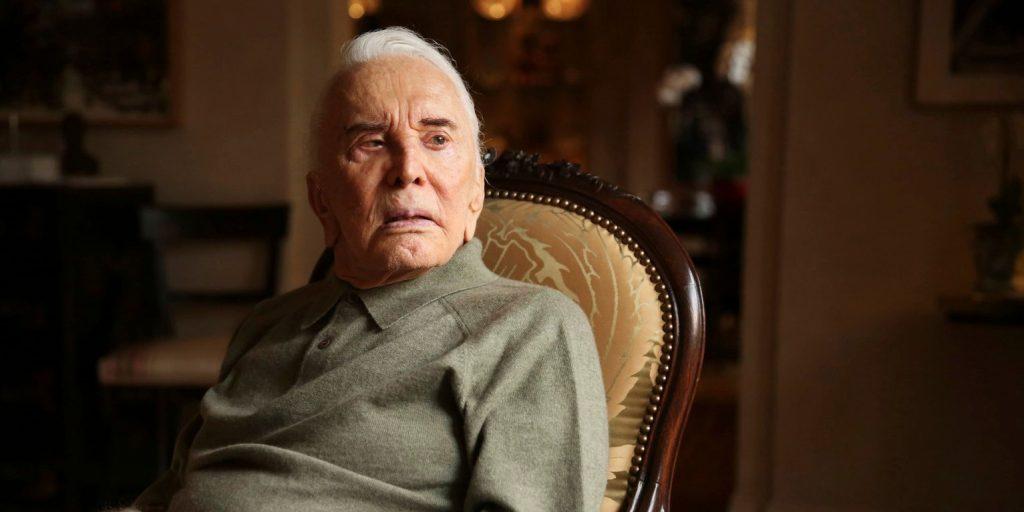 Így köszöntötte születésnapján fia a 103 éves Kirk Douglast